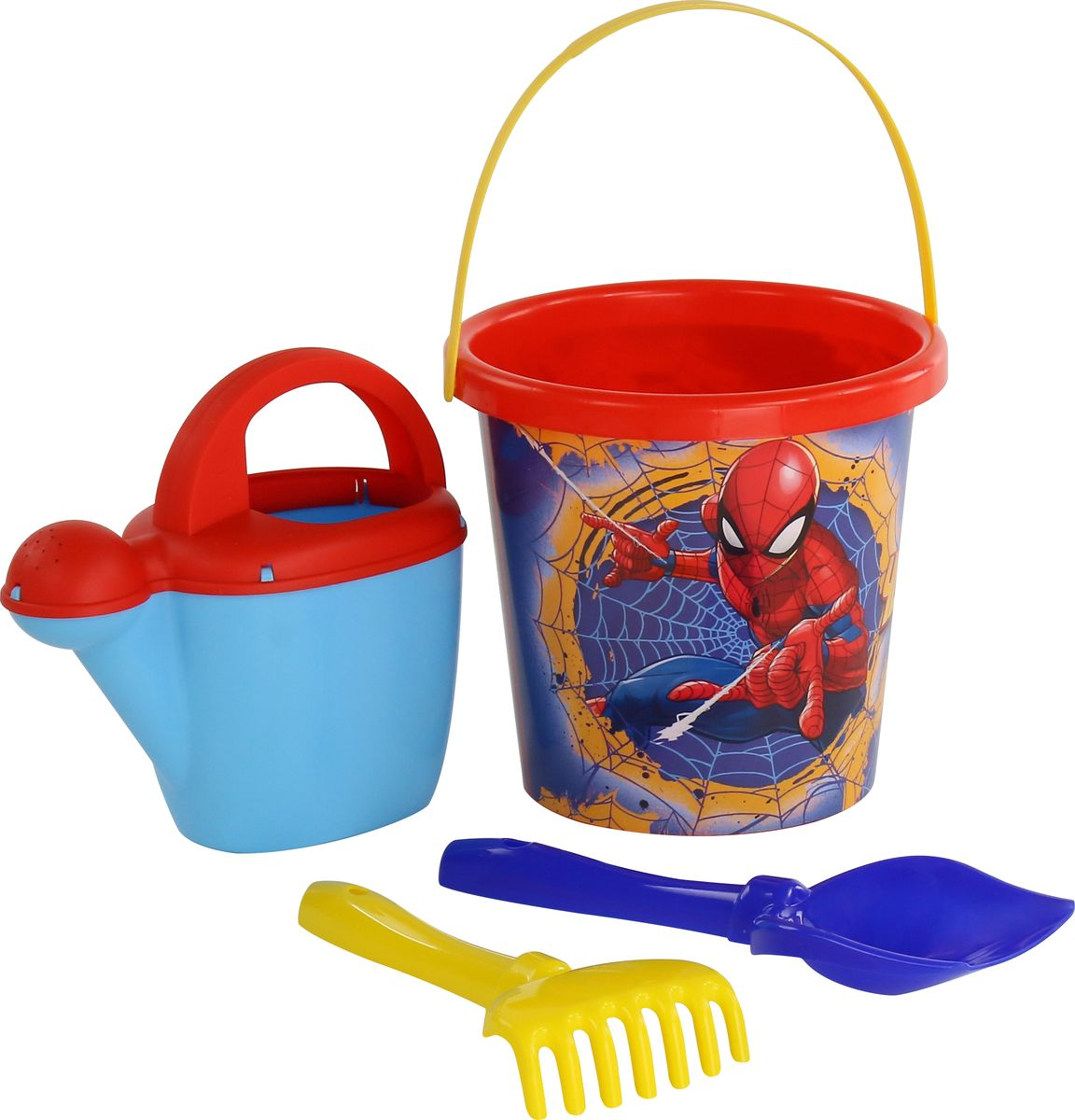 Marvel Набор игрушек для песочницы Набор Marvel Человек-Паук №9 marvel набор игрушек для песочницы софия прекрасная 1