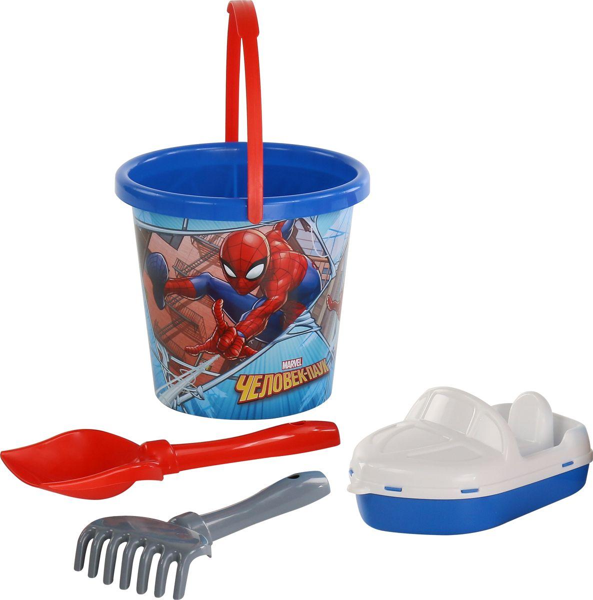 Marvel Набор игрушек для песочницы Набор Marvel Человек-Паук №10 marvel набор игрушек для песочницы софия прекрасная 1