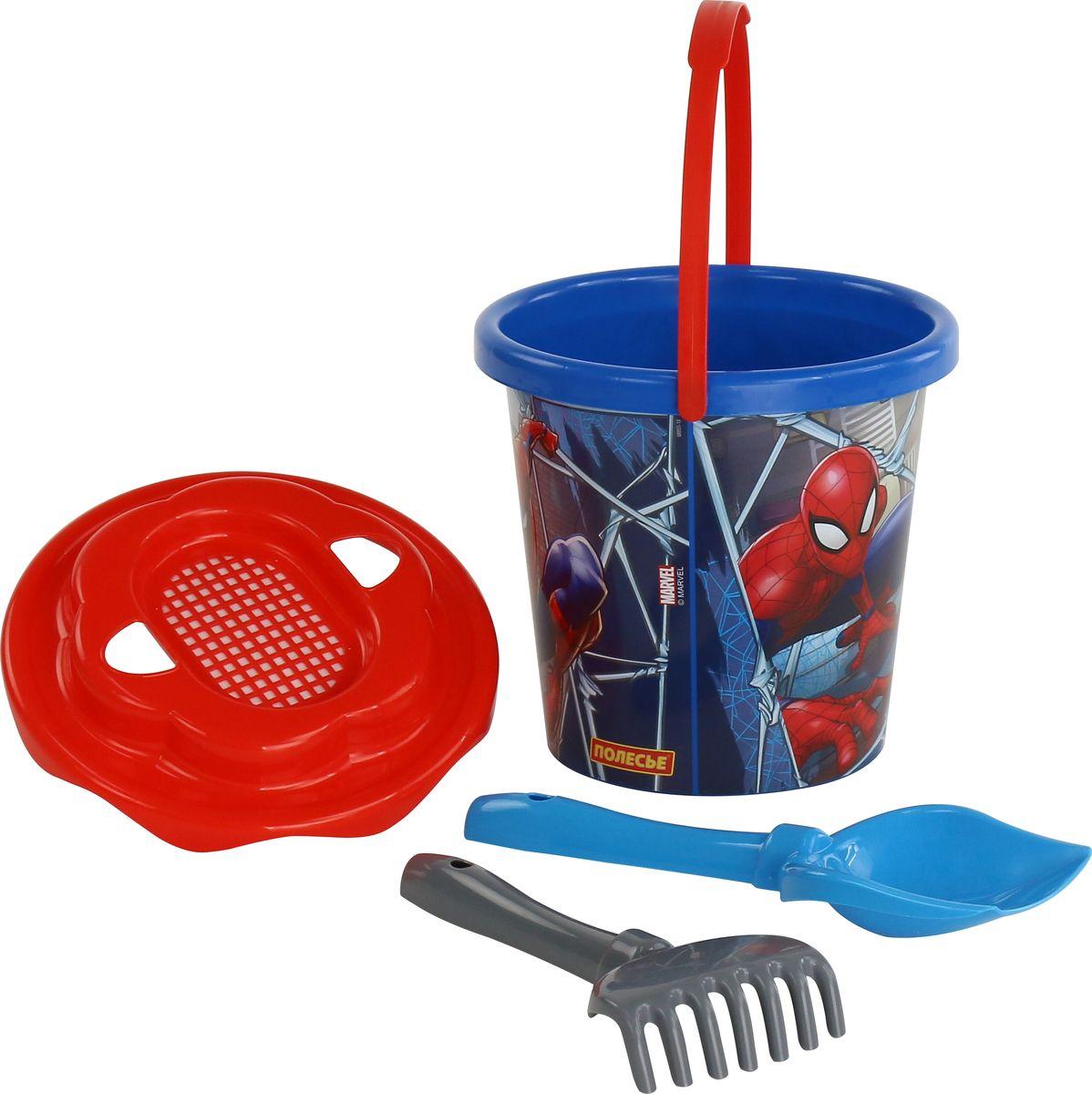 Marvel Набор игрушек для песочницы Набор Marvel Человек-Паук №11 marvel набор игрушек для песочницы софия прекрасная 1