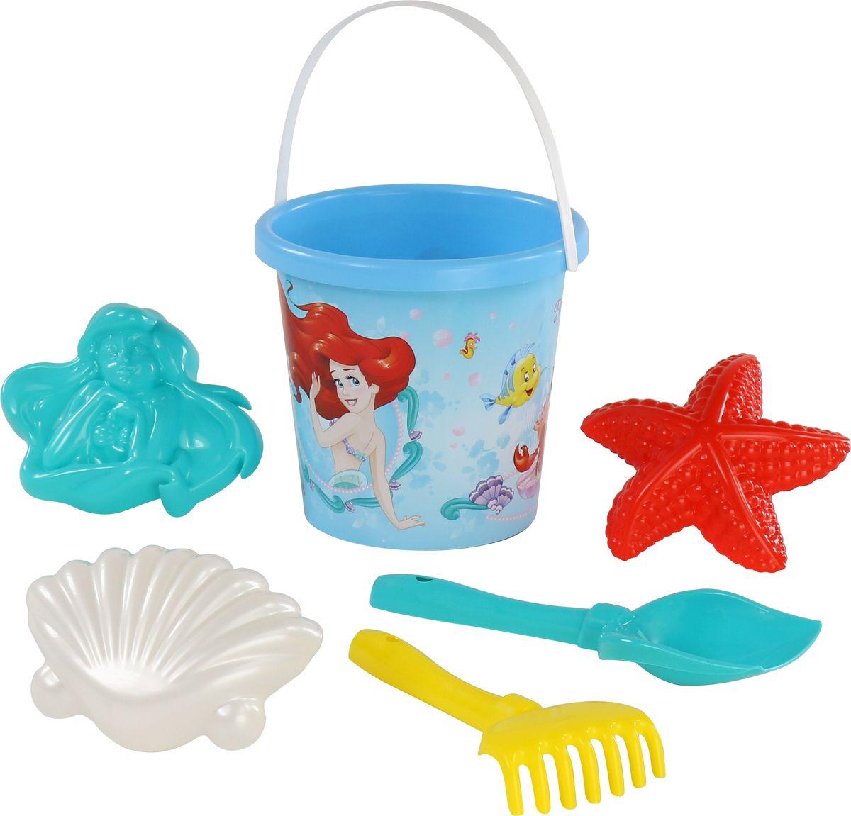 все цены на Disney Набор игрушек для песочницы Русалочка №2