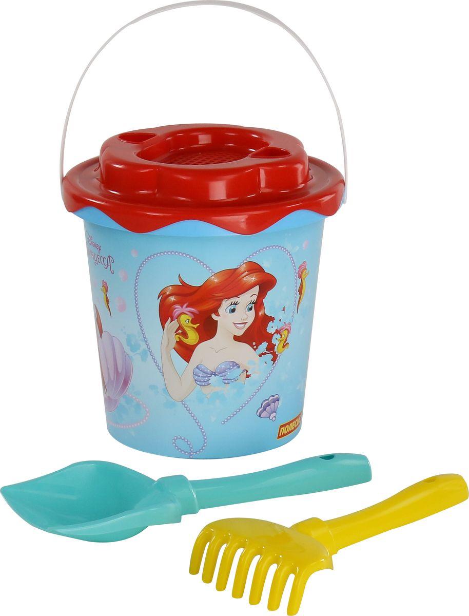 Disney Набор игрушек для песочницы Русалочка №3 наборы для творчества disney набор раскрась и собери калейдоскоп русалочка