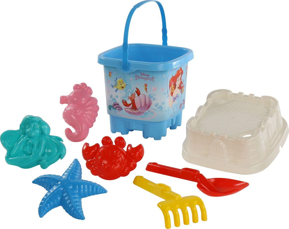 Disney Набор игрушек для песочницы Русалочка №9 hemar набор для песочницы авто ptys 9 предметов