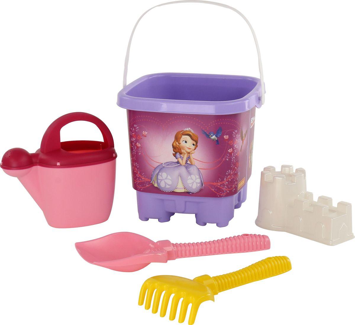 Disney Набор игрушек для песочницы София Прекрасная №4 marvel набор игрушек для песочницы софия прекрасная 1