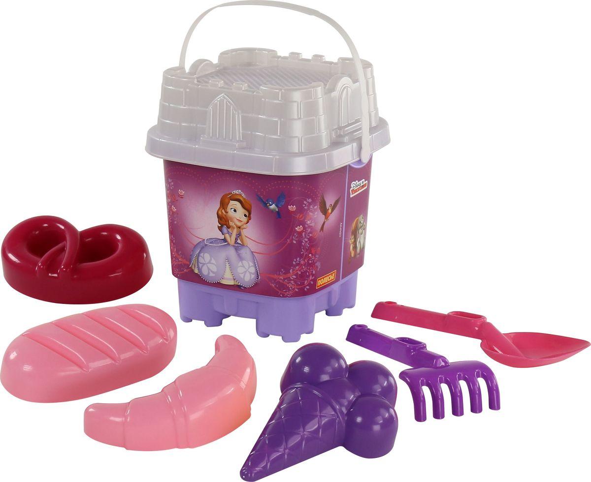 Disney Набор игрушек для песочницы София Прекрасная №5 marvel набор игрушек для песочницы софия прекрасная 1