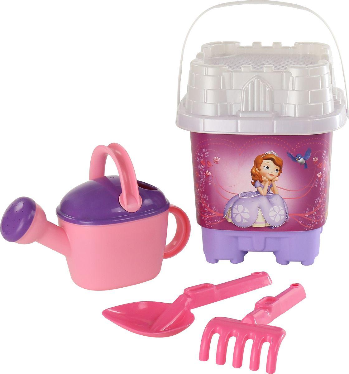 Disney Набор игрушек для песочницы София Прекрасная №6 цветные карандаши disney софия 6 цветов disney софия прекрасная