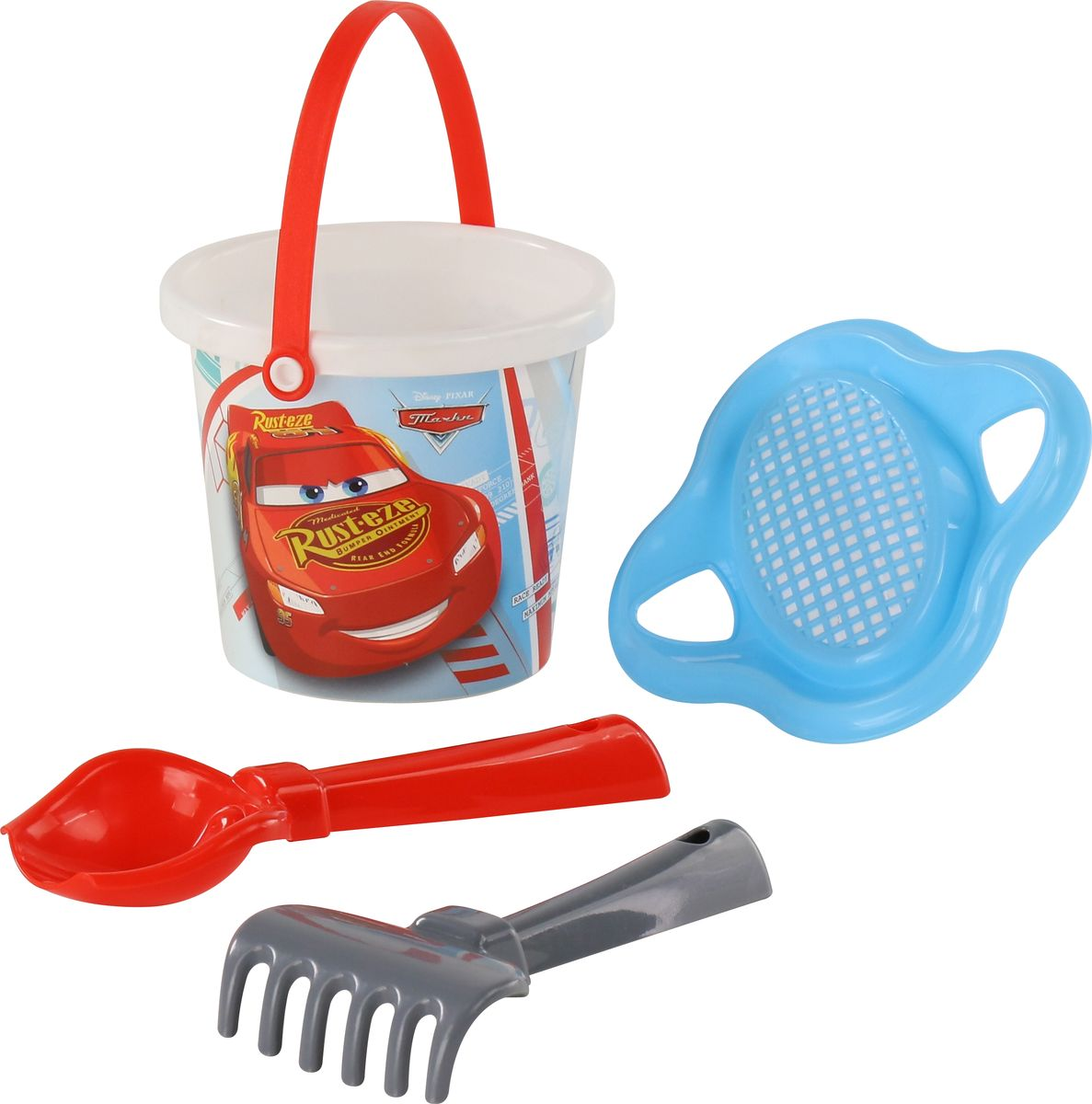 Disney / Pixar Набор игрушек для песочницы Тачки №2 disney pixar набор игрушек для песочницы тачки 18