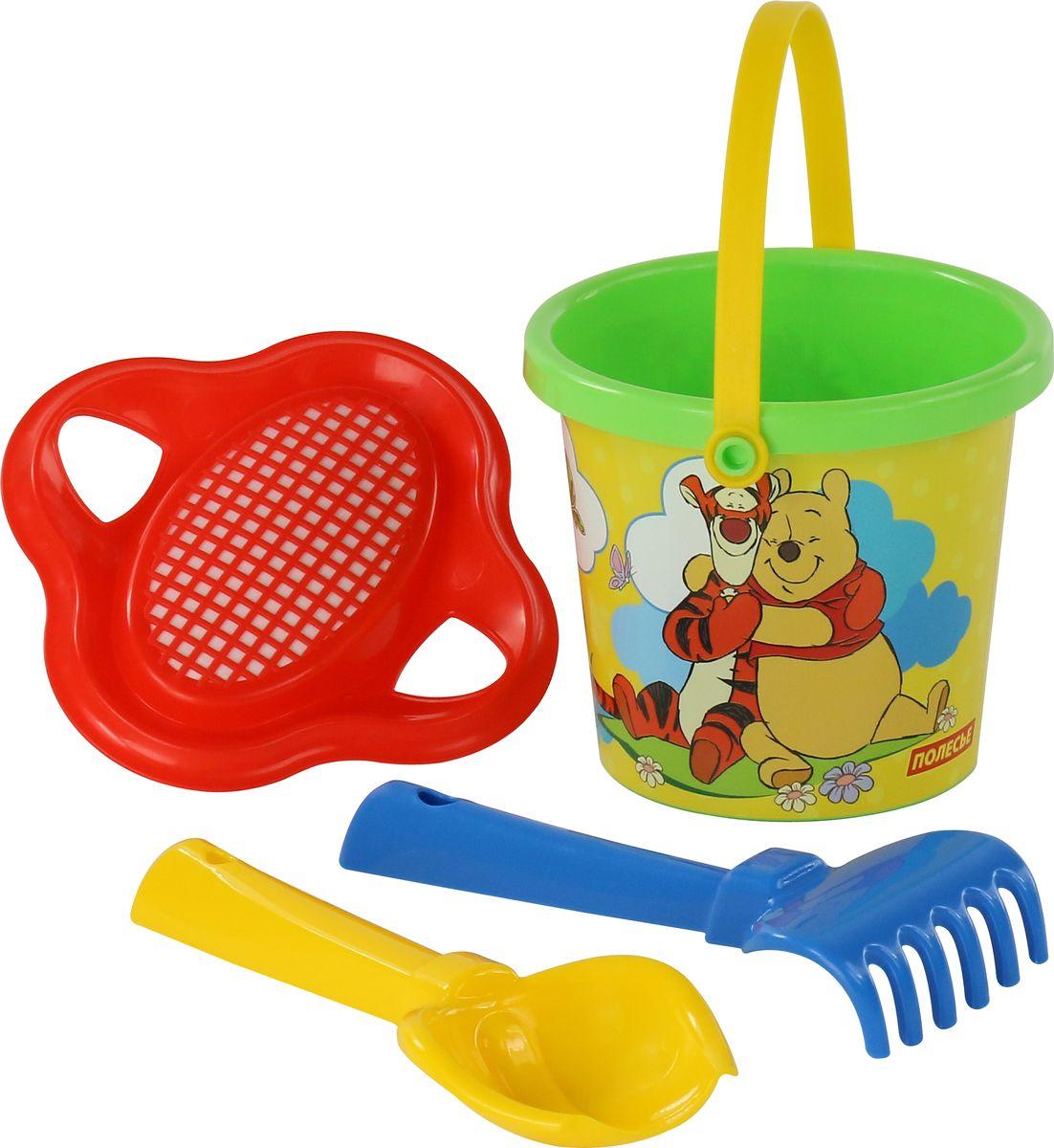 Disney Набор игрушек для песочницы Винни и его друзья №2 ящики для игрушек disney короб для игрушек микки и его друзья