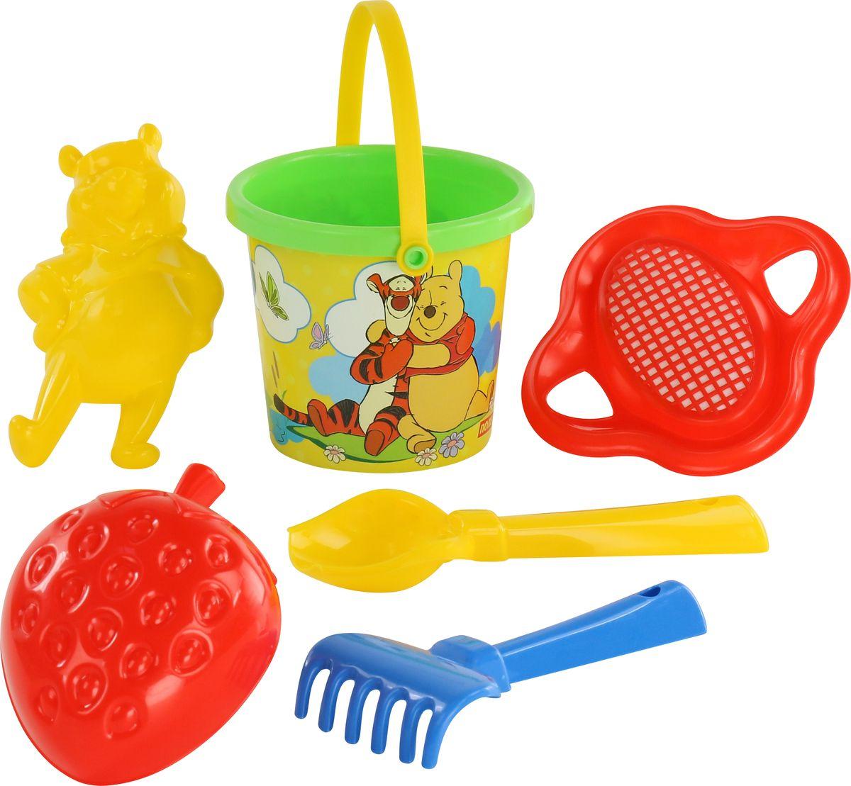Disney Набор игрушек для песочницы Винни и его друзья №3 ящики для игрушек disney короб для игрушек микки и его друзья