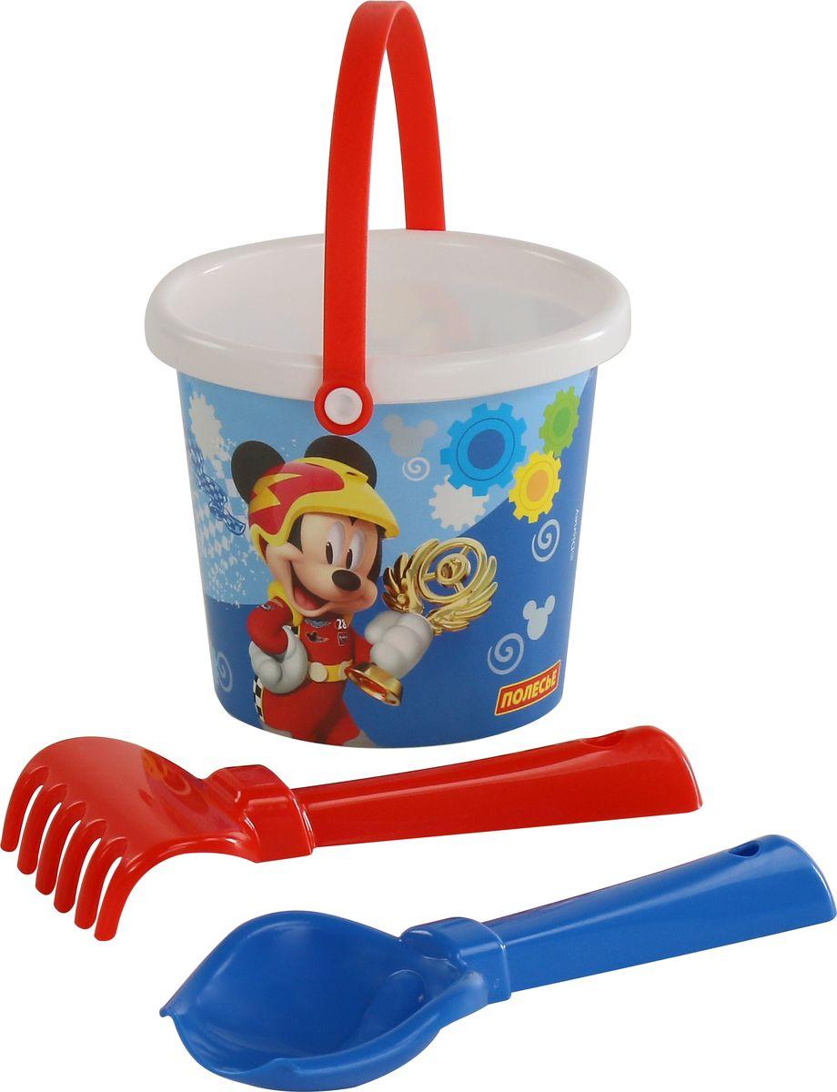 Disney Набор игрушек для песочницы Микки и Веселые гонки №1 ящики для игрушек disney короб для игрушек микки и его друзья