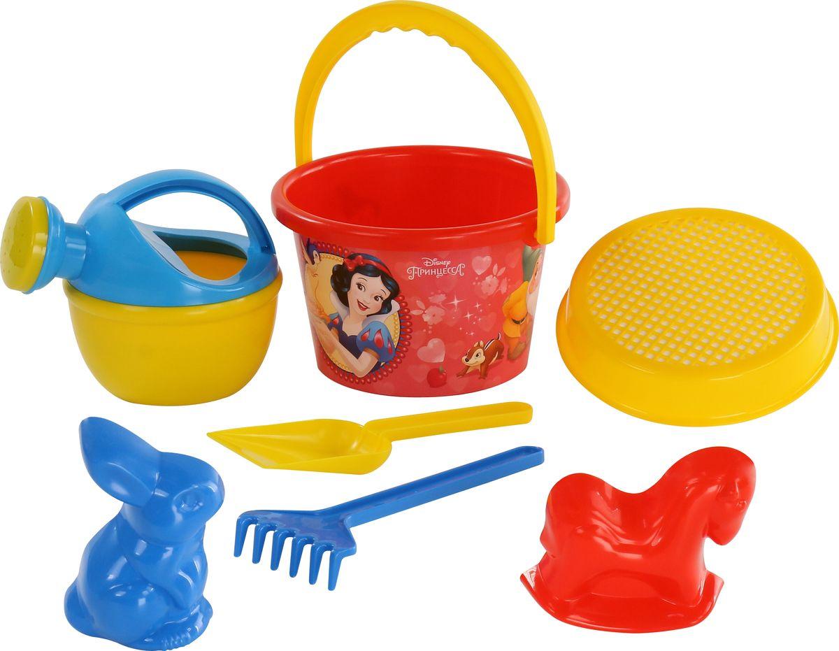 Disney Набор игрушек для песочницы Принцесса №8 disney набор игрушек для песочницы принцесса 13 5 предметов