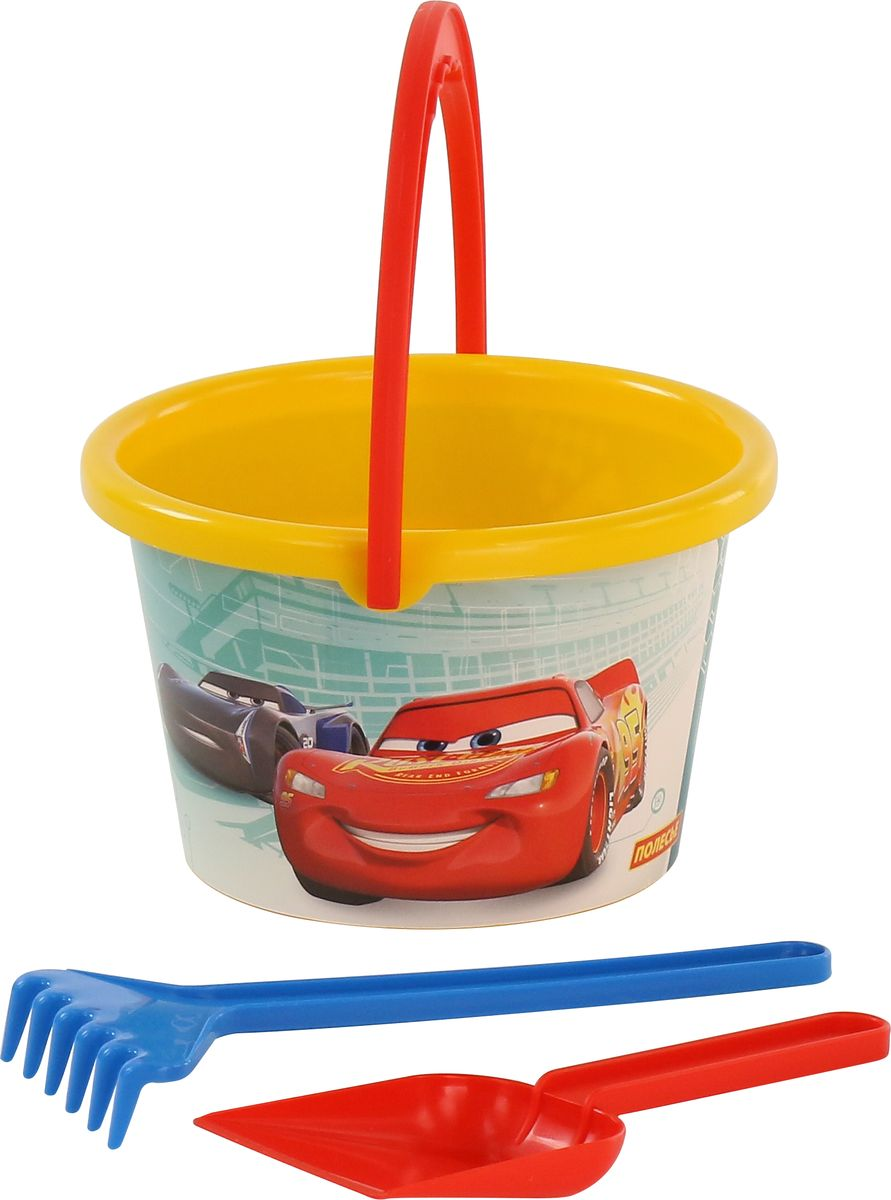 Disney / Pixar Набор игрушек для песочницы Тачки №9 disney pixar набор игрушек для песочницы тачки 20