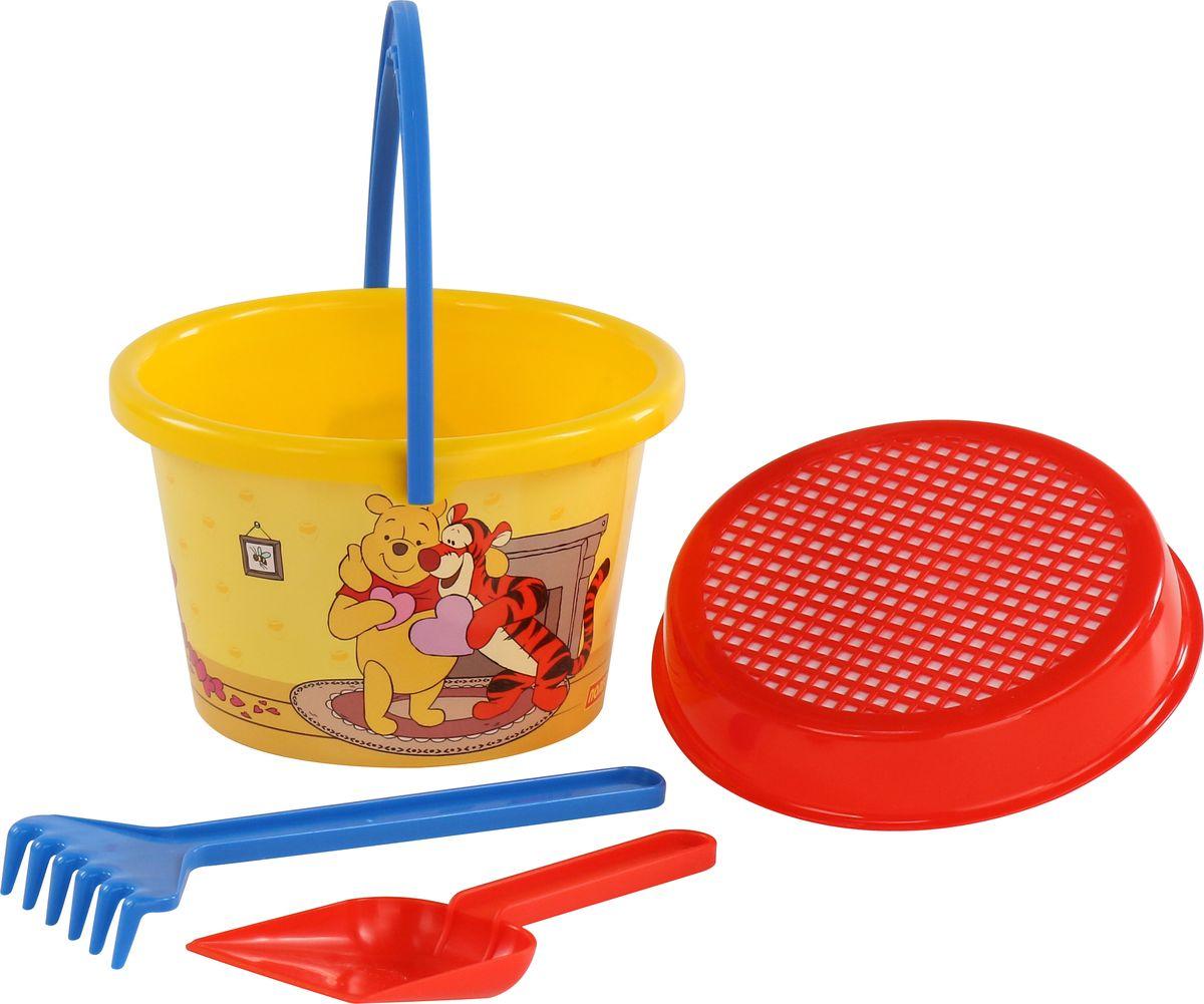 Disney Набор игрушек для песочницы Винни и его друзья №6 ящики для игрушек disney короб для игрушек микки и его друзья
