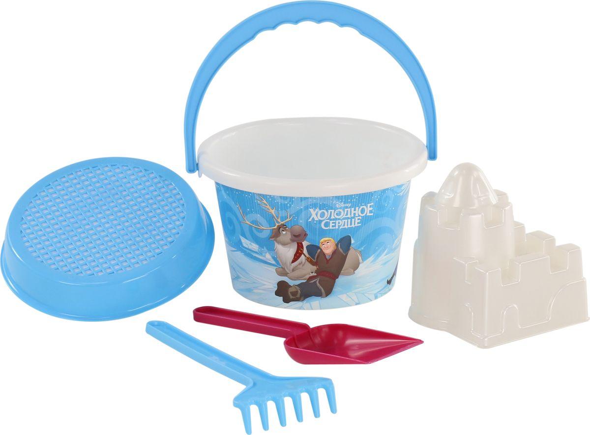Disney Набор игрушек для песочницы Холодное сердце №7 стакан bemeta retro 144210028