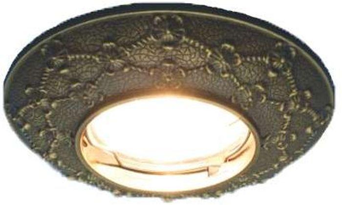 Светильник встраиваемый неповоротный ITALMAC Regal 51 3 19, литой, MR16, цвет: бронза. IT8457 растровые встраиваемые светильники 3х14w встраиваемый 600х600