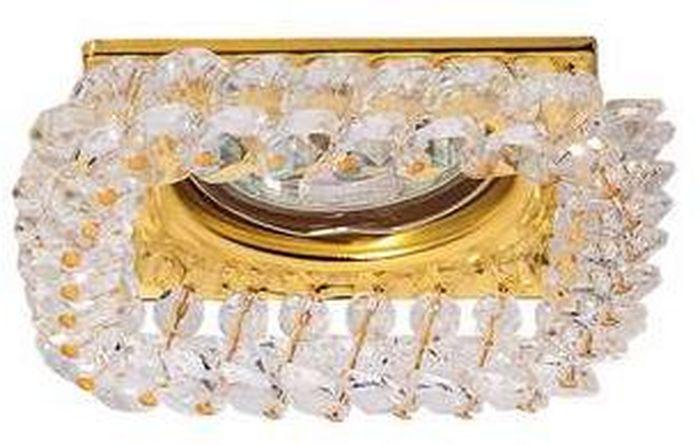 Светильник встраиваемый ITALMAC Sorento 51 2 04, MR16, цвет: золотистый. IT8503 растровые встраиваемые светильники 3х14w встраиваемый 600х600