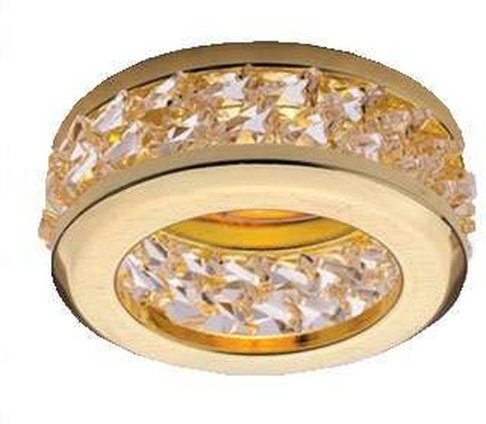 Светильник встраиваемый ITALMAC Sorento 51 1 04, MR16, цвет: золотистый. IT8508 растровые встраиваемые светильники 3х14w встраиваемый 600х600