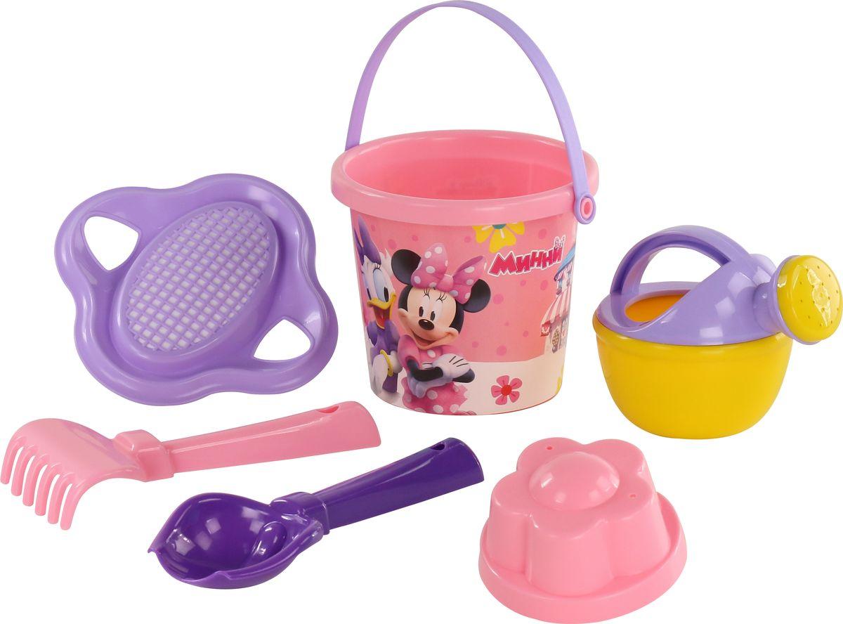 Disney Набор игрушек для песочницы Минни №4 мяч попрыгунч mondo минни 45 см