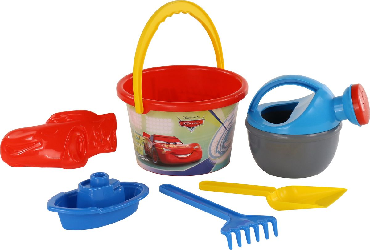 Disney / Pixar Набор игрушек для песочницы Тачки №12 disney pixar набор игрушек для песочницы тачки 18
