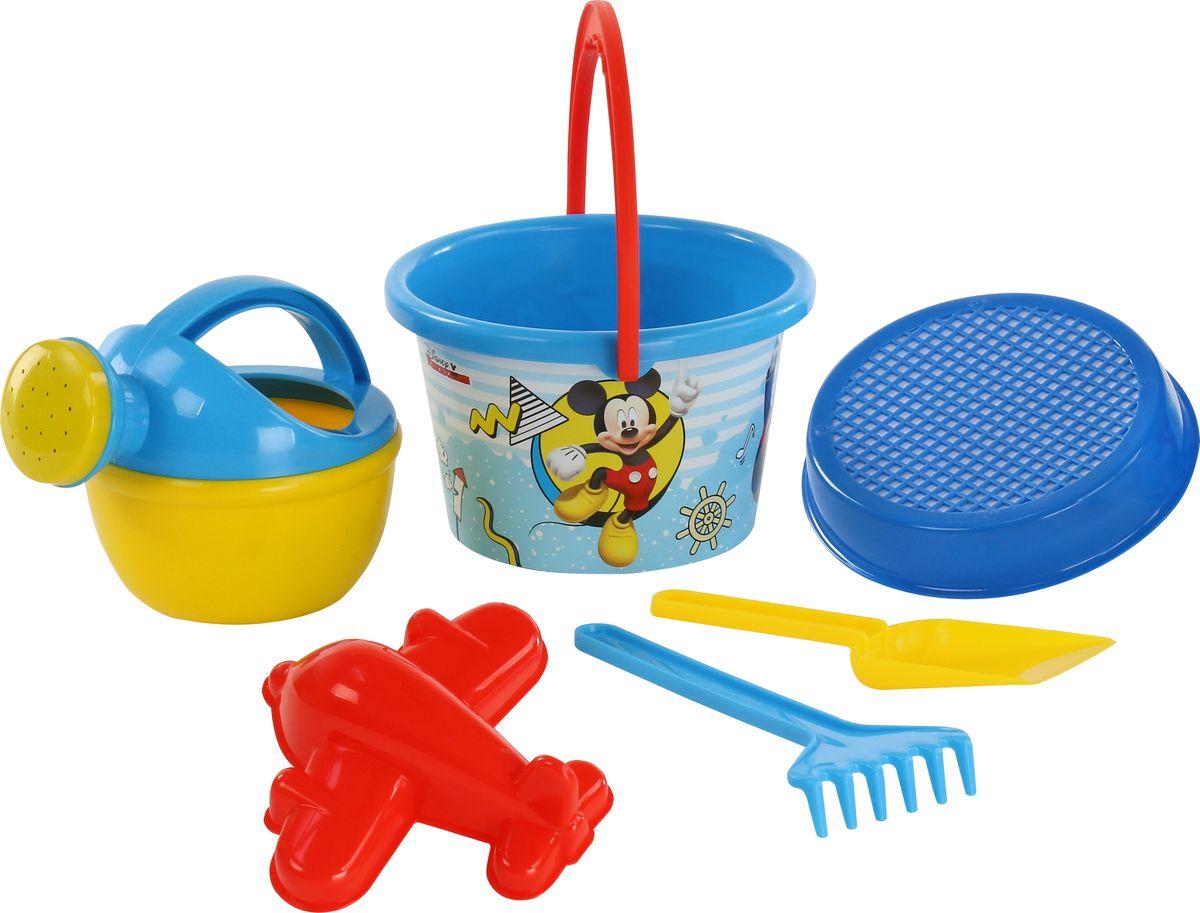 Disney Набор игрушек для песочницы Микки и Веселые гонки №8 игра настольная веселые гонки и божьи коровки