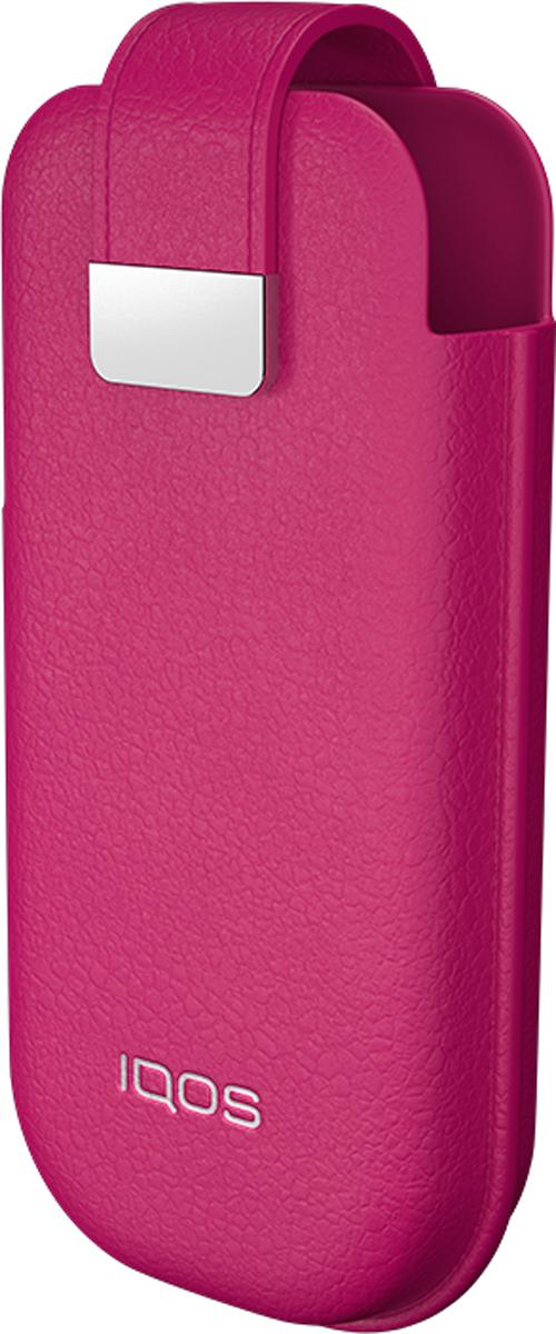 IQOSМягкий Чехол для электронной сигареты, цвет:  розовый IQOS