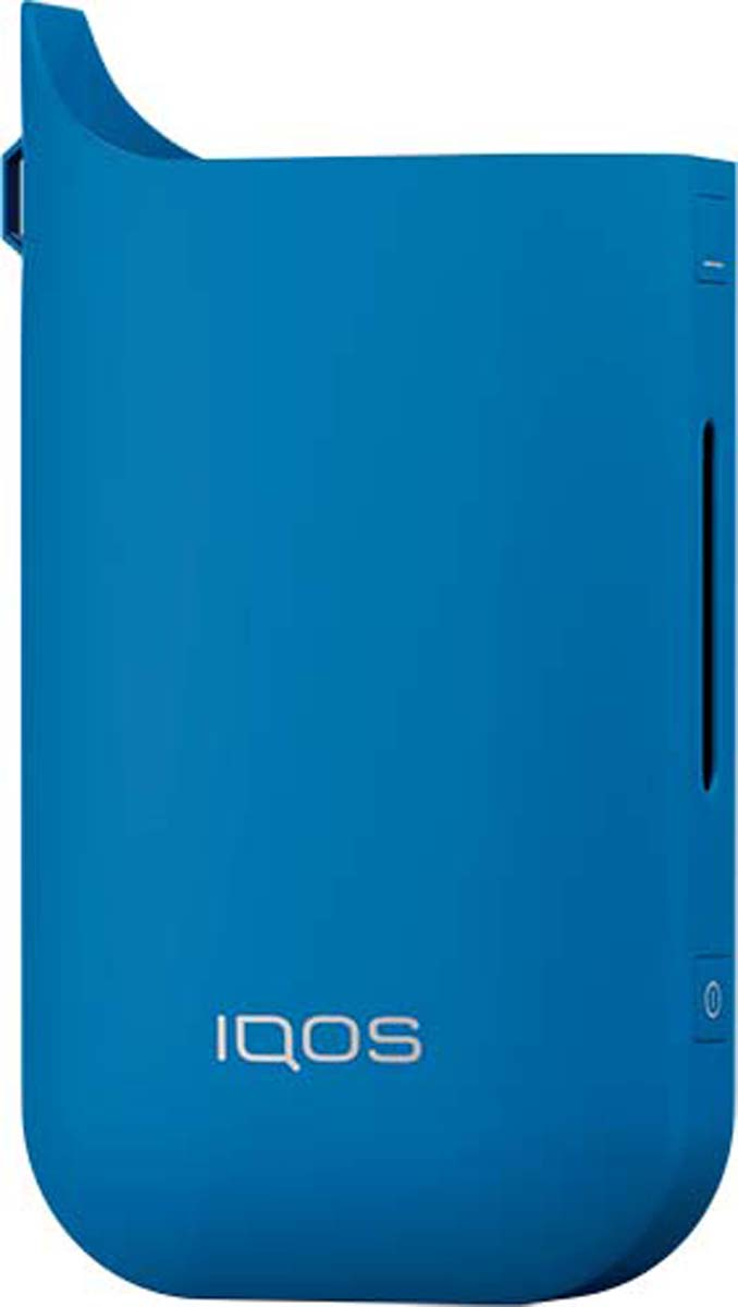 Фото - IQOS Чехол для электронной сигареты, цвет: синий пластиковые чехлы для телефонов