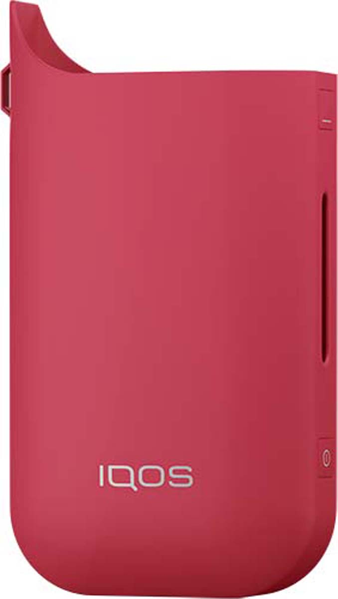 Фото - IQOS Чехол для электронной сигареты, цвет: красный пластиковые чехлы для телефонов