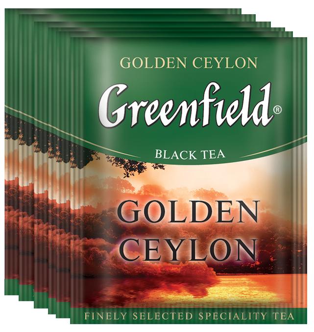 Greenfield Golden Ceylon черный чай в пакетиках, 100 шт0831-10В кафе, ресторанах чай в пакетиках является более востребованным, чем листовой по сравнению с потреблением в домашних условиях. Greenfield предлагает специально для предприятий сегмента HoReCa 17 популярных сортов чая из коллекций черного, зеленого и травяного чая с изменениями в элементах дизайна термосаше. Черный, зеленый, белый чай с лучших плантаций Цейлона, Индии, Китая и Японии, оригинальные чайные композиции с ягодами, фруктами, лепестками цветов и душистыми травами, травяные чаи. Пакетики упакованы в полиэтиленовый пакет.В богатом вкусе черного цейлонского чая тонкие оттенки сочетаются с силой и полнотой. Изысканный аромат, присущий ценный сортам цейлонского чая, подчеркивает благородство напитка.