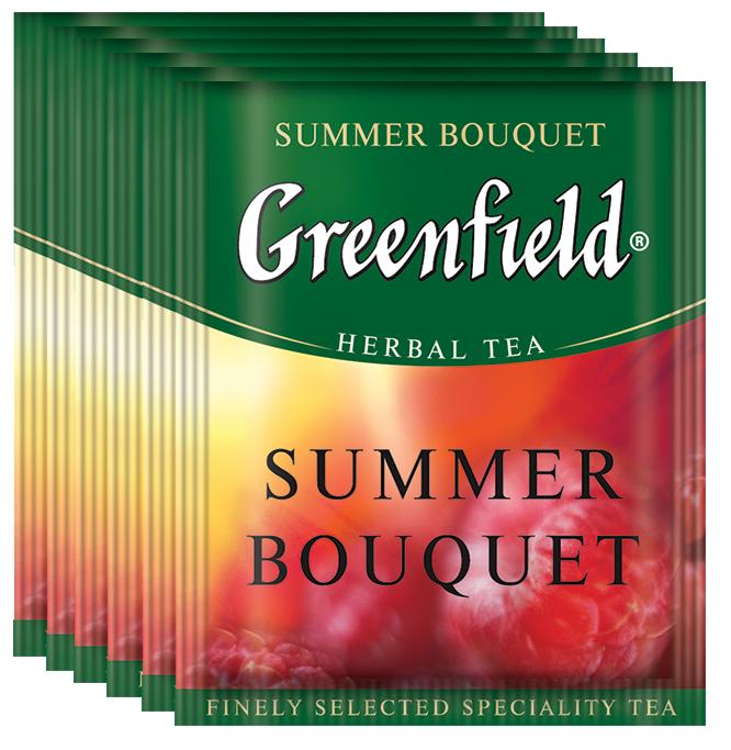 Greenfield Summer Bouquet фруктовый чай в пакетиках, 100 шт чай greenfield summer bouquet травяной