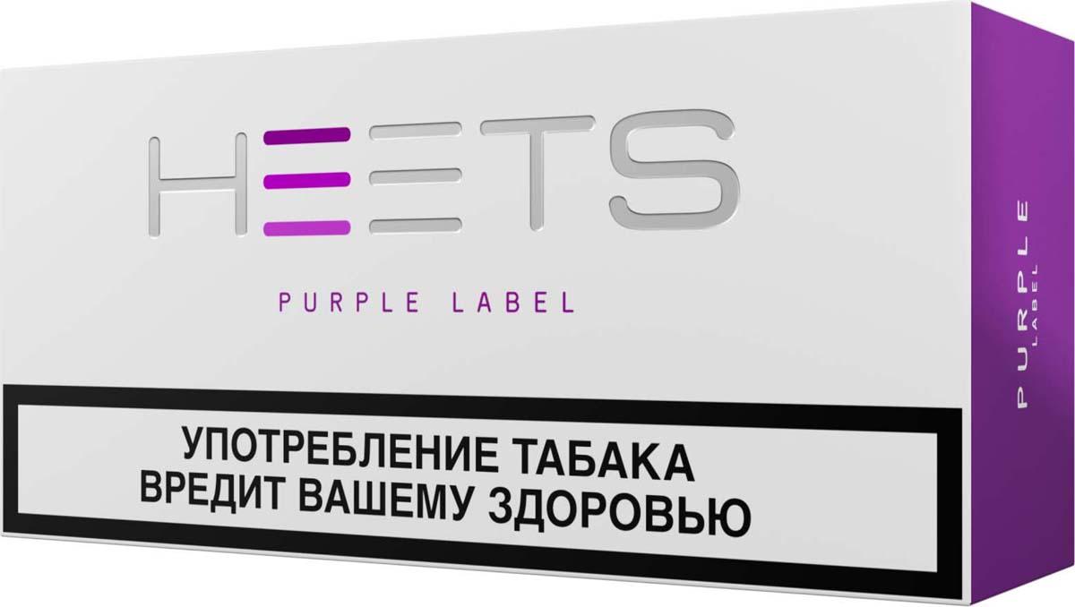 HEETS Стик табачный для Parliament Purple Label