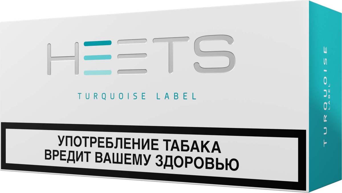 HEETS Стик табачный для Parliament Turquoise Label