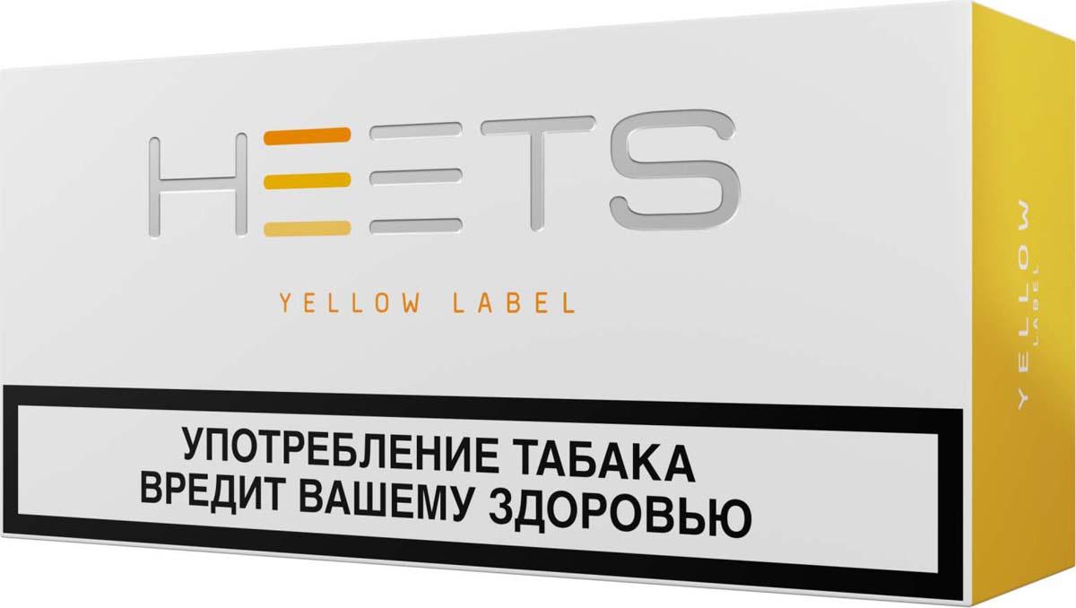 HEETS Стик табачный для Parliament Yellow Label