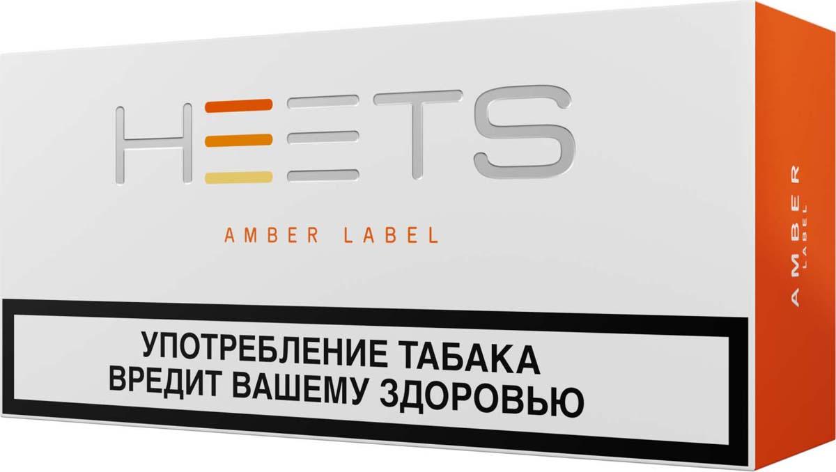 HEETS Стик табачный для Parliament Amber Label