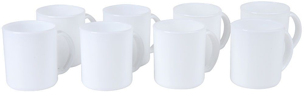 Набор чашек Rosenberg, цвет: белый, 320 мл, 8 шт. RGC-260015RGC-260015Набор чашек Rosenberg идеально подойдет, как для ежедневного использования, так и для сервировки праздничного стола.Вместе с таким набором любой напиток, будь то кофе или чай, станут еще вкуснее и ароматнее.Все предметы сделаны из качественного материала, что делает их удивительно износостойким и легким в уходе. Выдерживают высокие температуры. Устойчивы к различным химическим веществам. Просты и легки уход.В набор входят 8 чашек из стеклокерамики. Материал абсолютно безвреден, не содержит вредных включений и длительное время сохраняет тепло напитка.Во время мытья изделий не рекомендуется применять чистящие средства с абразивными компонентами.