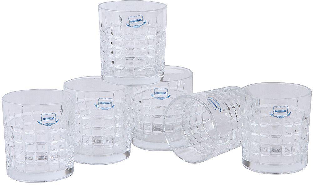 Набор стаканов Rosenberg, 330 мл, 6 шт. RGL-795008 набор стаканов luminarc versalles 350 мл 6 шт