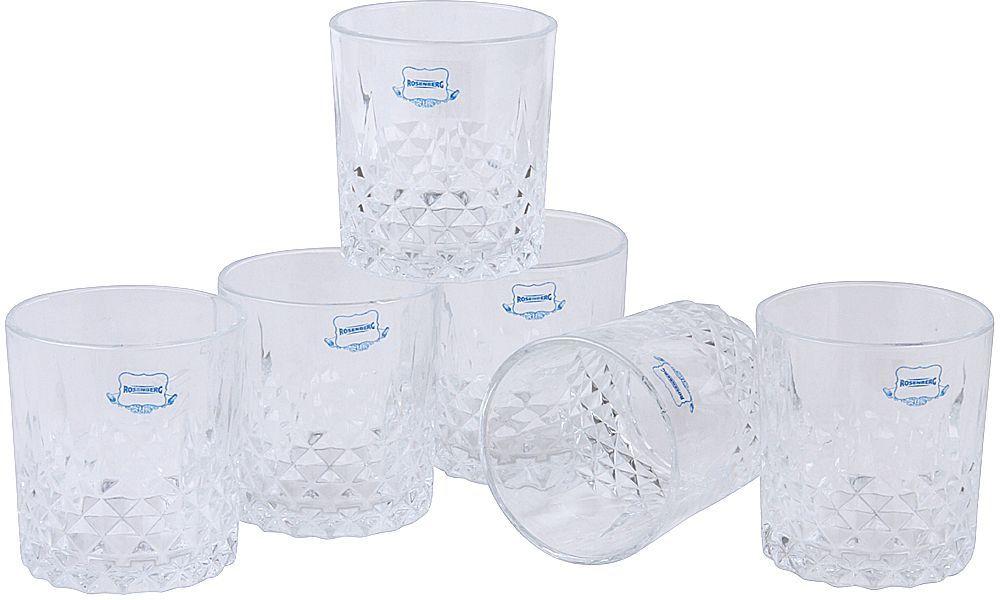 Набор стаканов Rosenberg, 330 мл, 6 шт. RGL-795010 набор бутылок для масла rosenberg rgl 225010