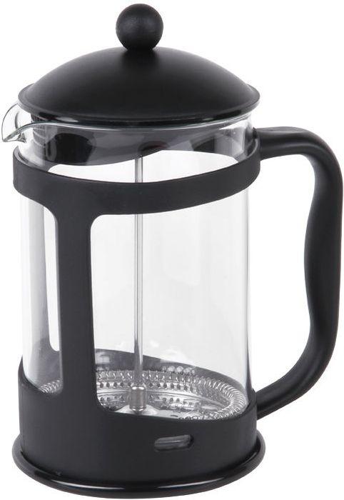 """Френч-пресс Rosenberg изготовлен из высококачественного пластика и термостойкого стекла. Удобная ненагревающаяся ручка. Фильтр-поршень из нержавеющей стали выполнен по технологии """"press-up"""" для обеспечения равномерной циркуляции воды. Засыпая чайную заварку или кофе под фильтр, заливая горячей водой, вы получаете ароматный напиток с оптимальной крепостью и насыщенностью. Объем 1500мл. Размеры 17 х 13 х 23.5 см"""