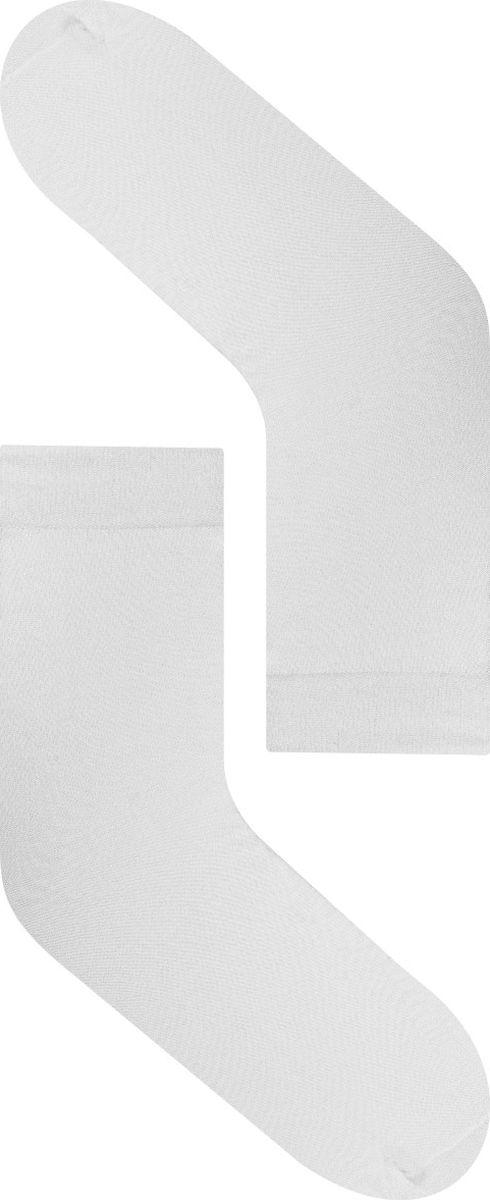 Носки женские Idilio, цвет: белый. SW 07. Размер универсальныйSW 07Комфортные носки, универсального размера, с добавлением экологически чистого хлопка, изготовленные без применения химических красителей.