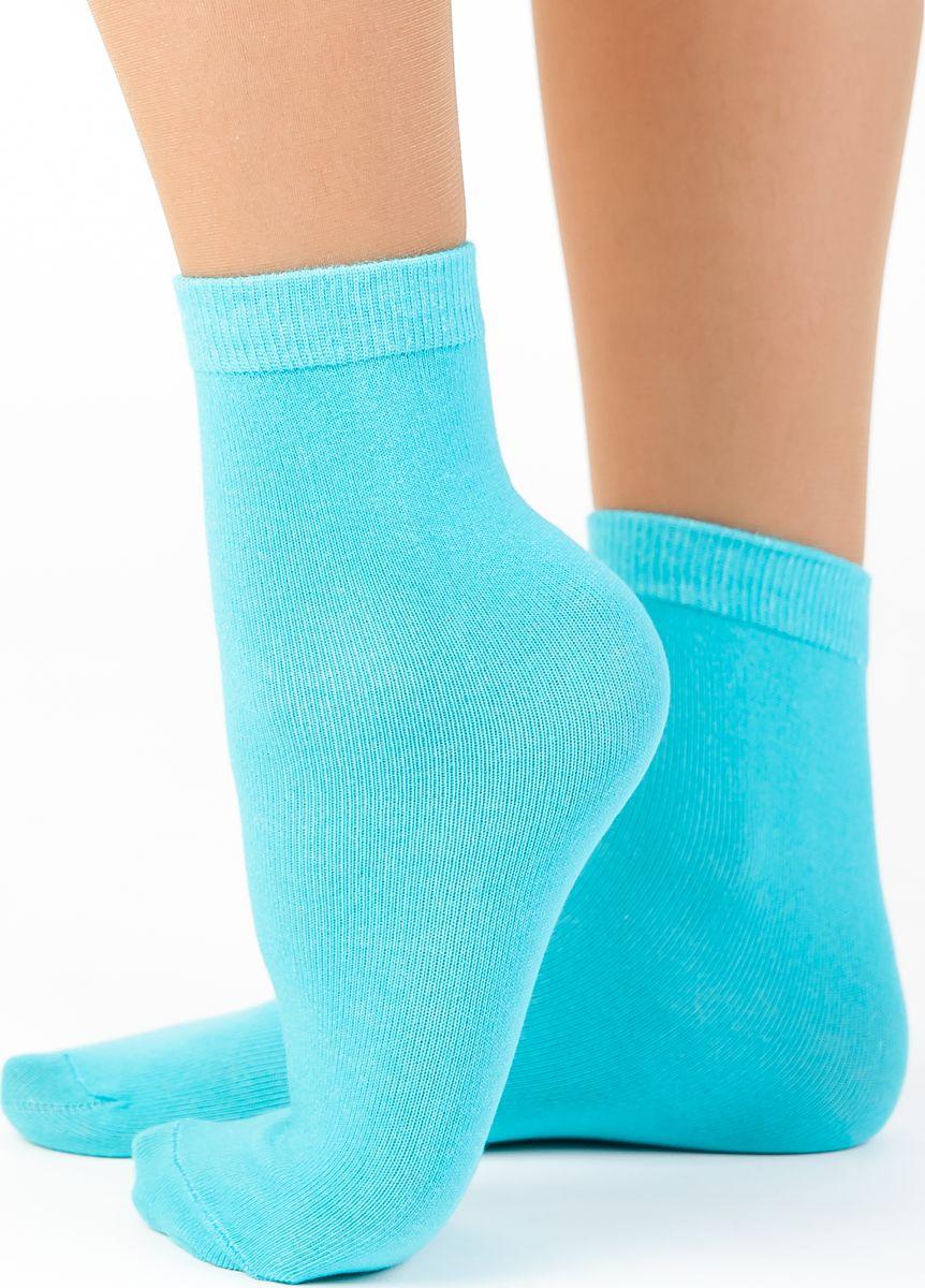 Носки женские Idilio, цвет: бирюзовый. SW 07. Размер универсальныйSW 07Комфортные носки, универсального размера, с добавлением экологически чистого хлопка, изготовленные без применения химических красителей.