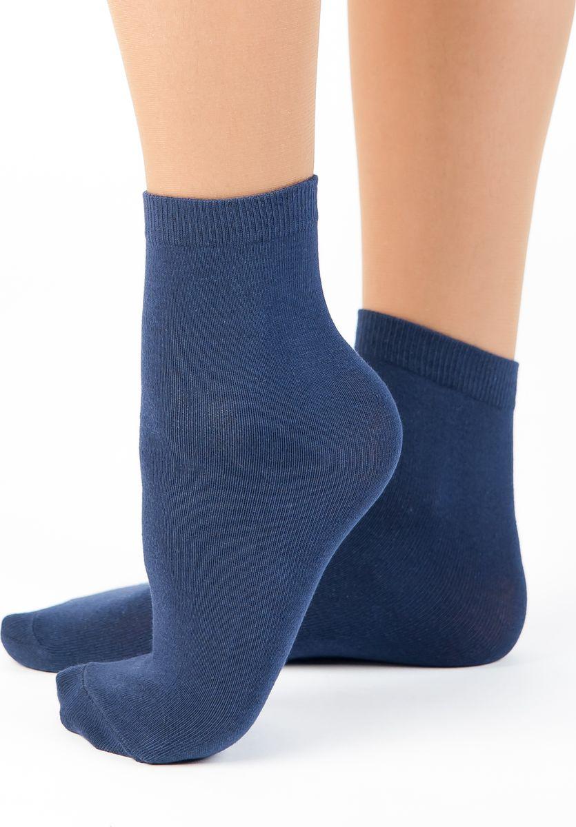 Носки женские Idilio, цвет: темно-синий. SW 07. Размер универсальныйSW 07Комфортные носки, универсального размера, с добавлением экологически чистого хлопка, изготовленные без применения химических красителей.