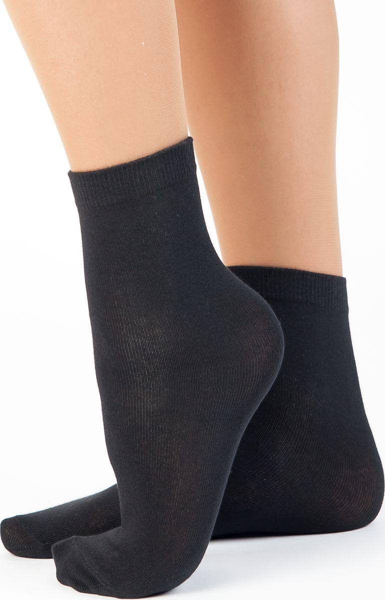 Носки женские Idilio, цвет: черный. SW 07. Размер универсальный