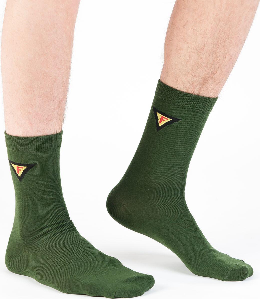 Купить Носки мужские Idilio, цвет: зеленый. SM 09. Размер 39/41