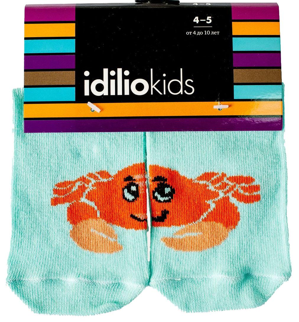 Носки детские Idilio, цвет: бирюзовый. SKU08. Размер 27/29 idilio idilio l 08