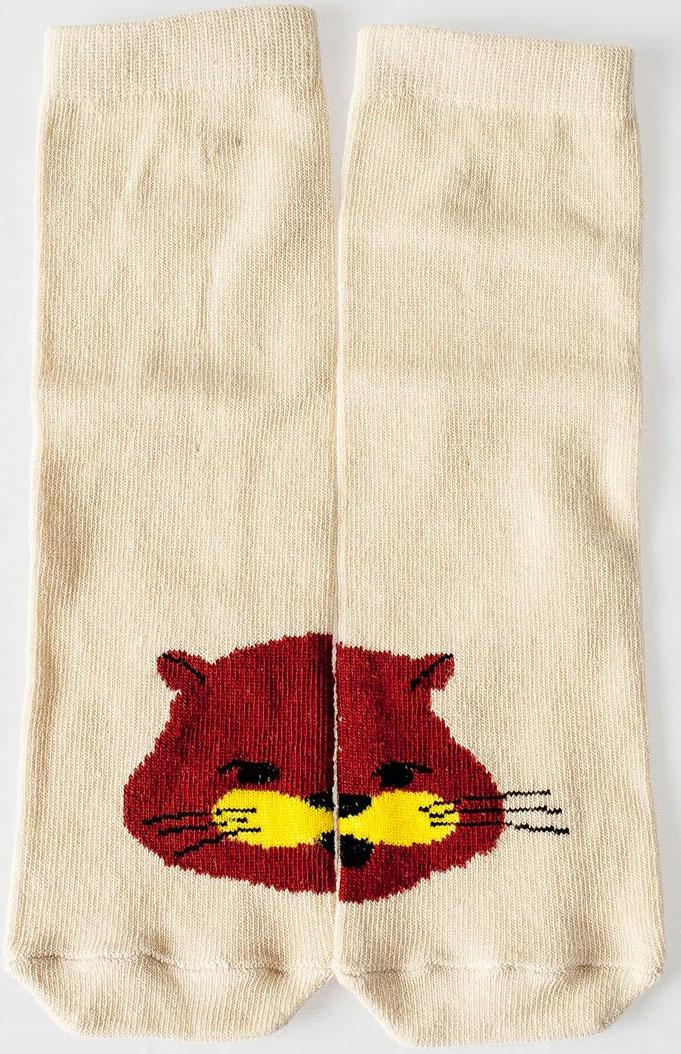 Носки детские Idilio, цвет: бежевый. SKU06. Размер 27/29SKU06Комфортные носки для детей с добавлением экологически чистого хлопка, изготовленные без применения химических красителей.