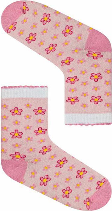 Носки для девочки Idilio, цвет: розовый. SG01. Размер 27/29