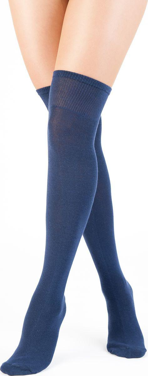 Гольфы женские Idilio, цвет: темно-синий. GW02. Размер 37/39 недорго, оригинальная цена