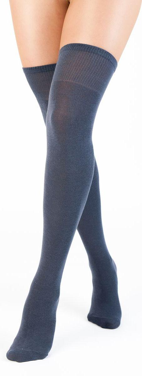 Чулки Idilio, цвет: серый. GW01. Размер универсальный