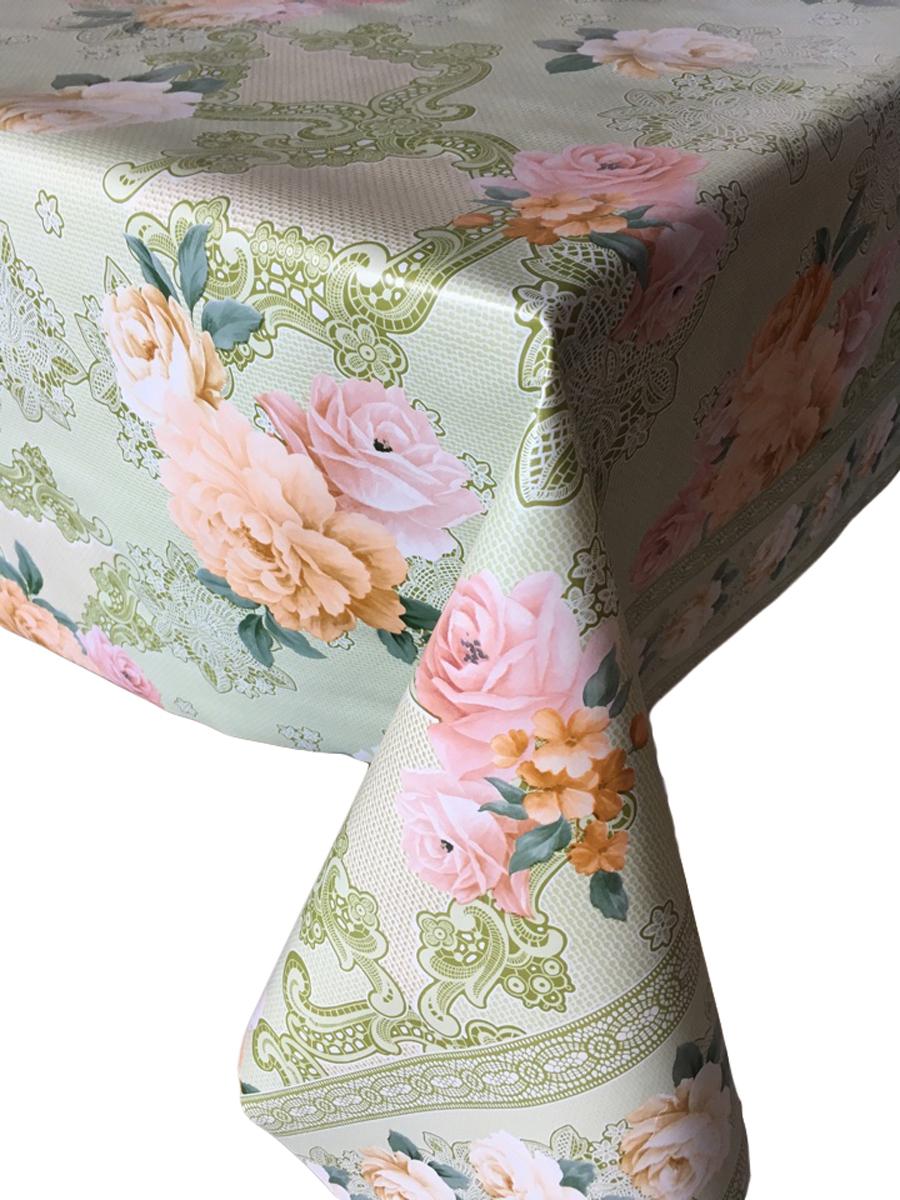 Столовая клеенка LCadesi Florista, прямоугольная, 140 х 200 см. FL140200-377-03FL140200-377-03