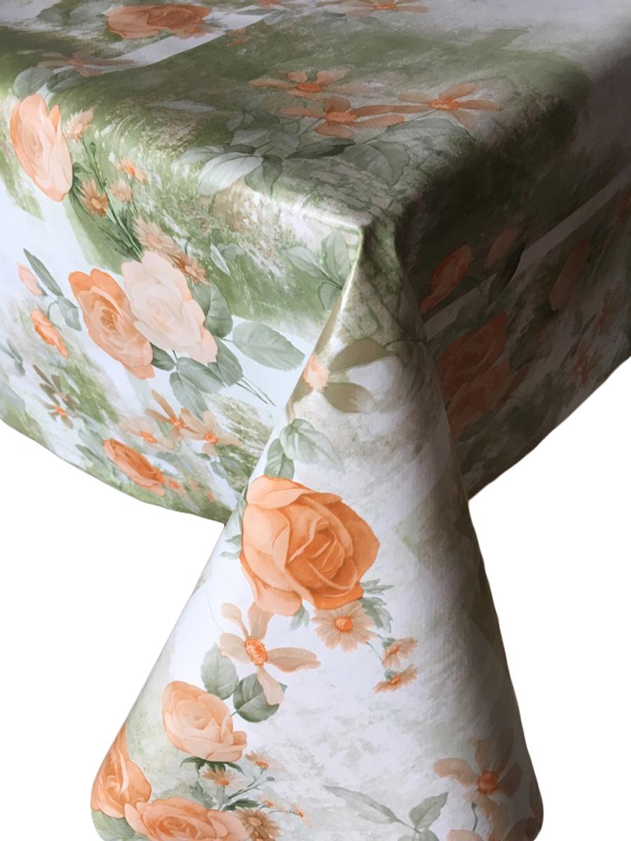 Клеенка столовая LCadesi Florista, прямоугольная, 140 х 200 см. FL140200-378-03FL140200-378-03Столовая клеенка LCadesi Florista с ярким дизайном украсит ваш стол и защитит его от царапин и пятен. Благодаря основе из нетканого материала не скользит по столу. Клеенка не имеет запаха и совершенно безопасна для человека. Размер: 140 х 200 см.