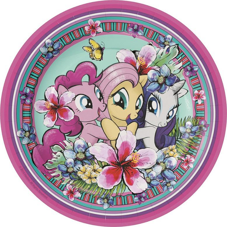 Мой маленький пони Набор тарелок 18 см 6 шт