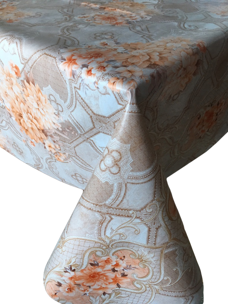 """Клеенка столовая L'Cadesi """"Florista"""", прямоугольная, 100 х 140 см. FL100140-379-02"""